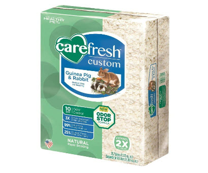 Carefresh Custom Rabbit Bedding
