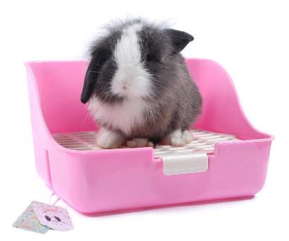 Mkono Rabbit Litter Box