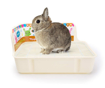 Plastic Pet Rabbit Litter Tray