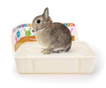 Plastic Pet Rabbit Litter Tray