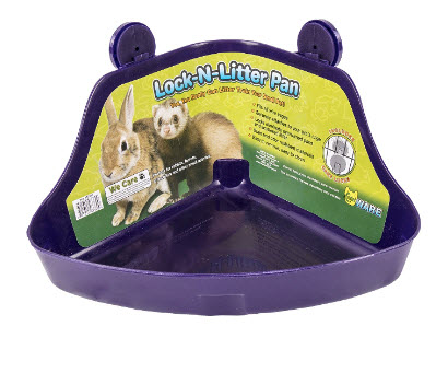 Rabbit Lock N Litter Pan