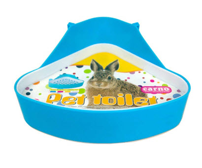 WAOK Plastic Pet Rabbit Toilet
