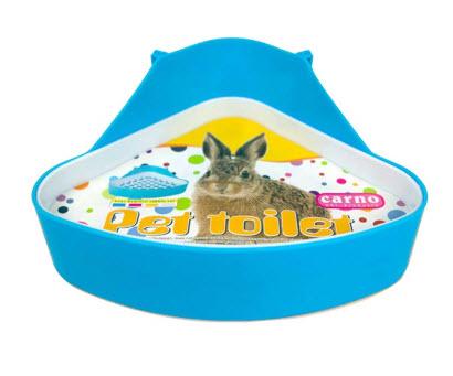 WAOK Plastic Pet Rabbit Toilet