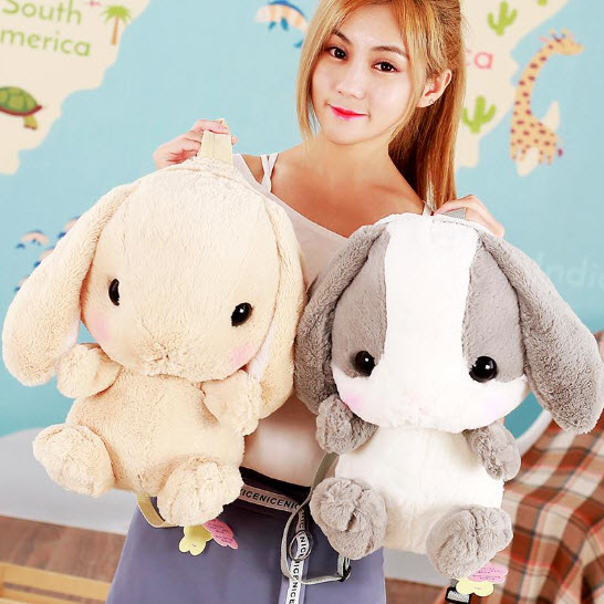 Worlds Cutest Bunny Backpack